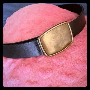 Gap genuine Italian leather belt.